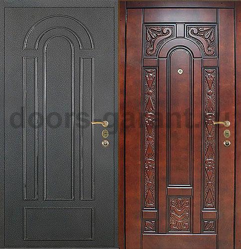 металлические уличные двери высокого качества