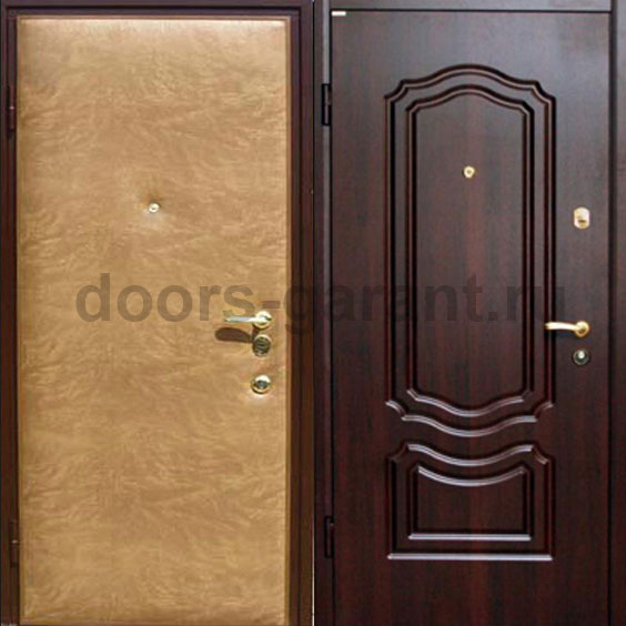 входные дверь с отделкой винилискожей